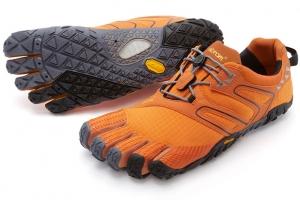 fivefingers v trail naranja mini