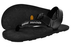 minimal sandals infiniti negro mini