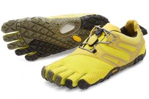 zapatillas v trail mujer amarillo mini