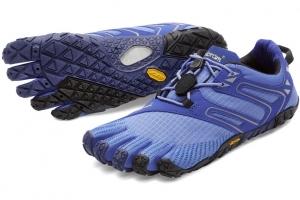 zapatillas v trail mujer azul mini