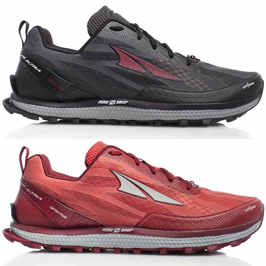 Zapatillas Altra Superior 3.5 gris y rojo