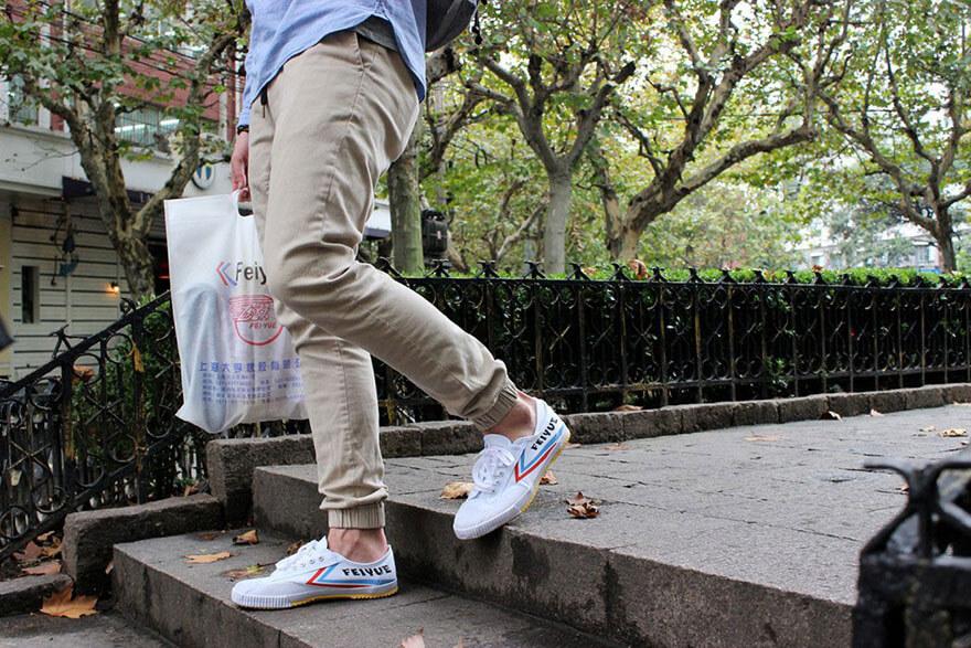 Zapatillas Feiyue de paseo