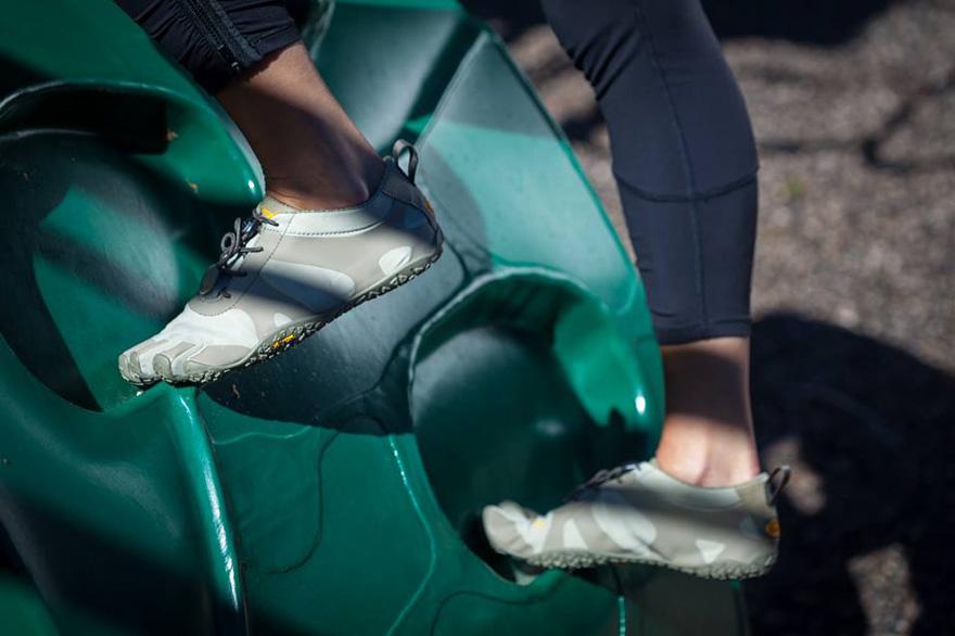 Zapatillas FiveFingers V-Alpha de mujer en verde
