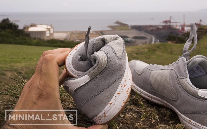 Flexibilidad zapatillas Nummulit Terra