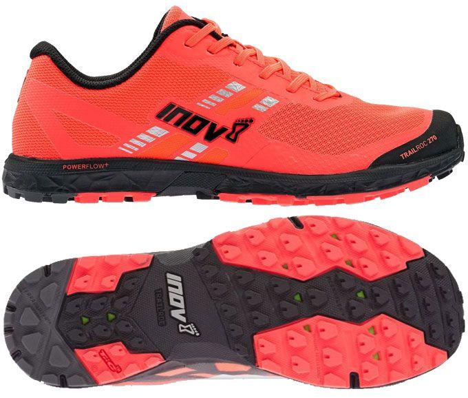 Zapatillas para mujer Inov-8 Trailroc 270 rojo