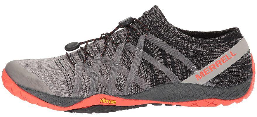 Zapatillas Merrell Trail Glove 4 Knit para hombre. Color gris.