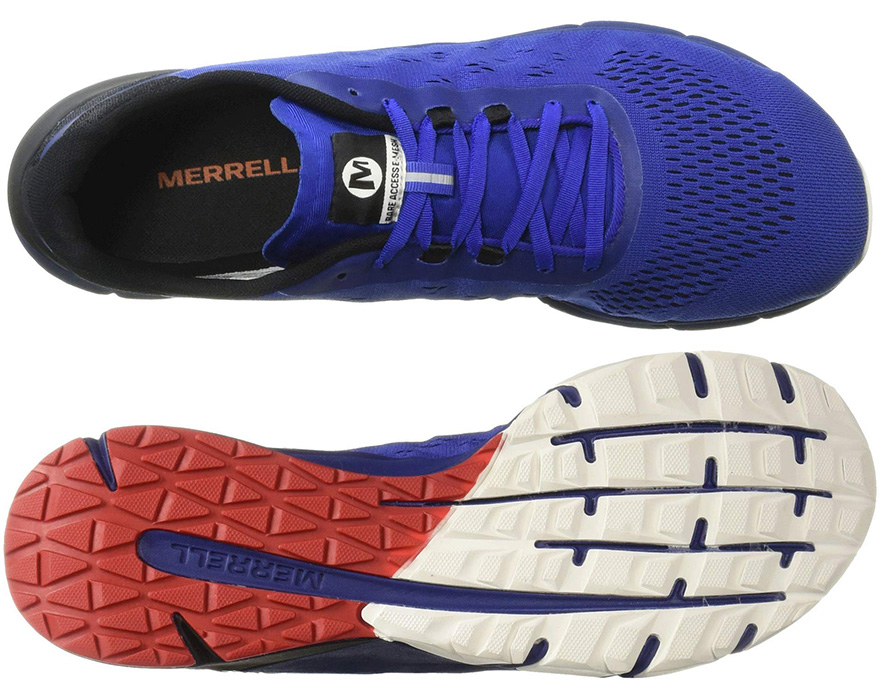 Suela de las zapatillas Mertrell Bare Access Flex 2 E-Mesh