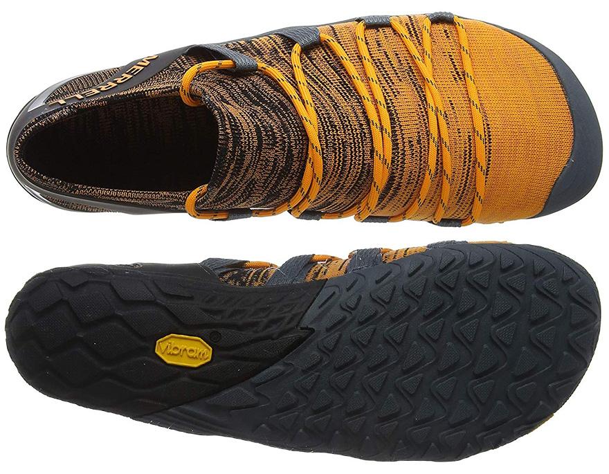Suela y upper de las zapatillas Merrell Vapor Glove 4 3D