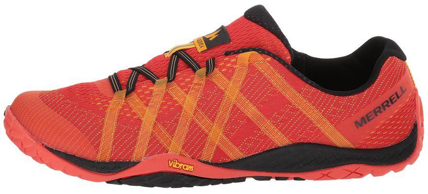 Zapatillas minimalistas Merrell Trail Glove 4 E-Mesh rojas