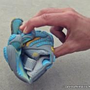 Flexibilidad zapatillas FiveFingers Bikila