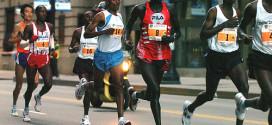 Los corredores de élite talonan
