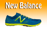 Botón de la marca New Balance