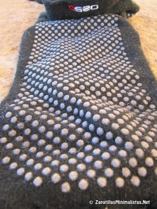 Detalle calcetines antideslizantes
