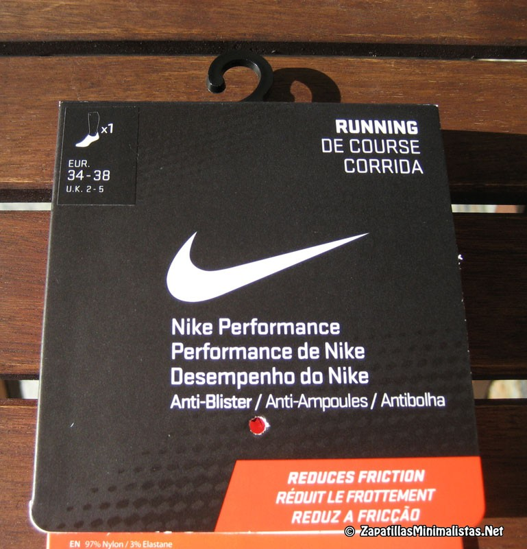 Popa Cuadrante Conexión  Calcetines de 5 dedos Nike   ZapatillasMinimalistas.Net