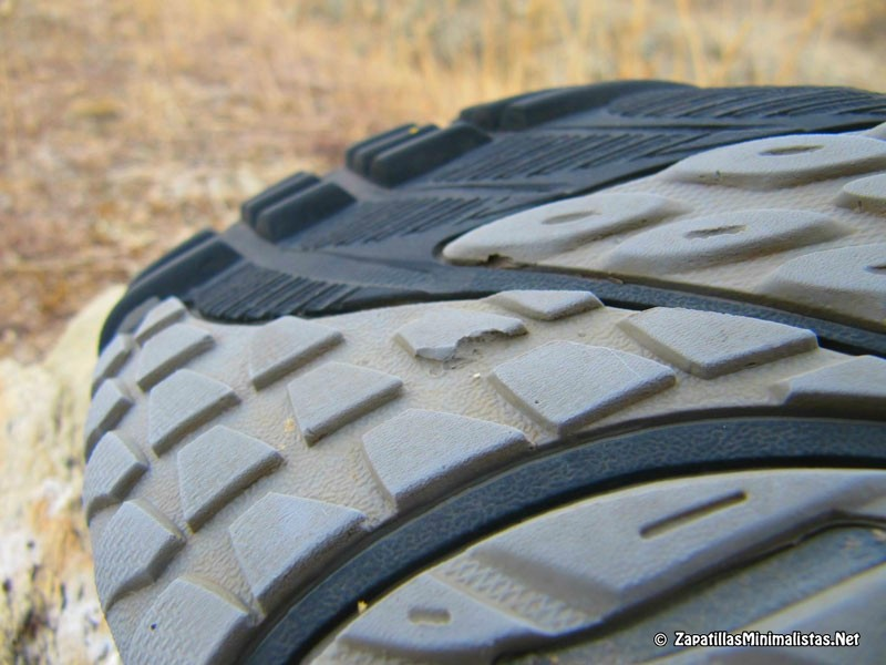 Detalle suela Trail Glove 2