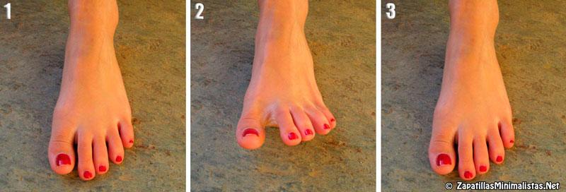 Ejercicios para fortalecer los pies 1