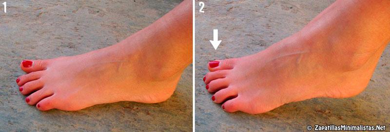Ejercicios para fortalecer los pies 2