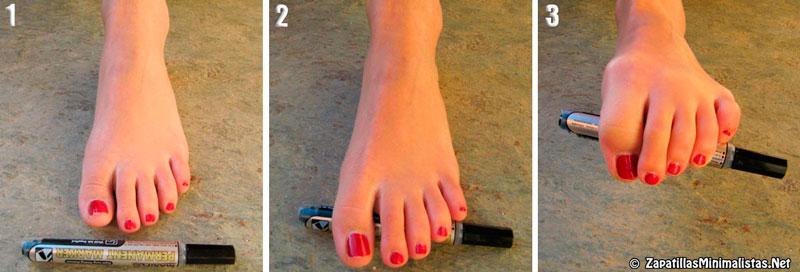 Ejercicios para fortalecer los pies 4