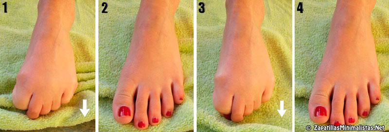 Ejercicios para fortalecer los pies 6