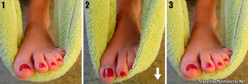 Ejercicios para fortalecer los pies 7