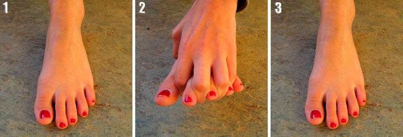 Ejercicios para fortalecer los pies 8