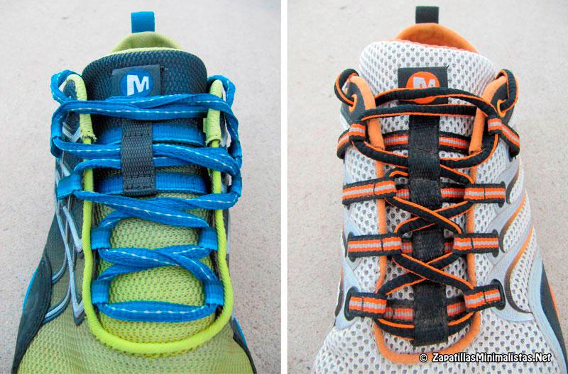 Comparativa ajuste Merrell Trail Glove