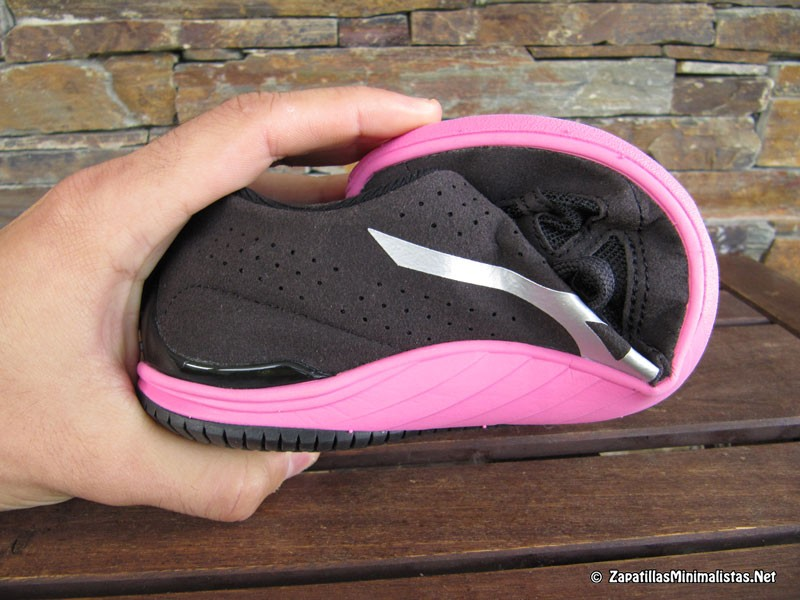 Flexibilidad de las zapatillas