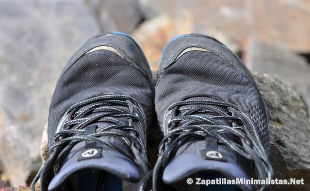 Puntera zapatillas minimalistas