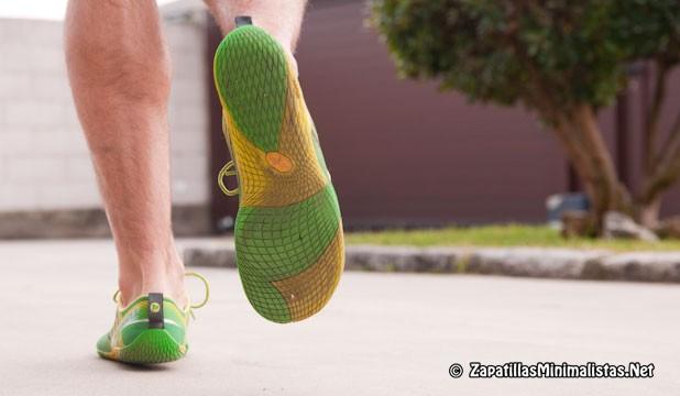 Corriendo con Merrell Vapor Glove