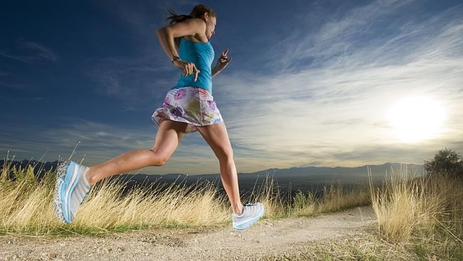 Corriendo con máxima amortiguación