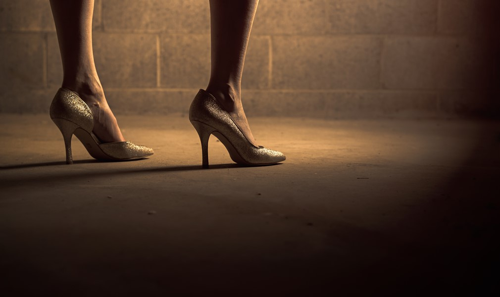 Zapatos de mujer con tacón alto