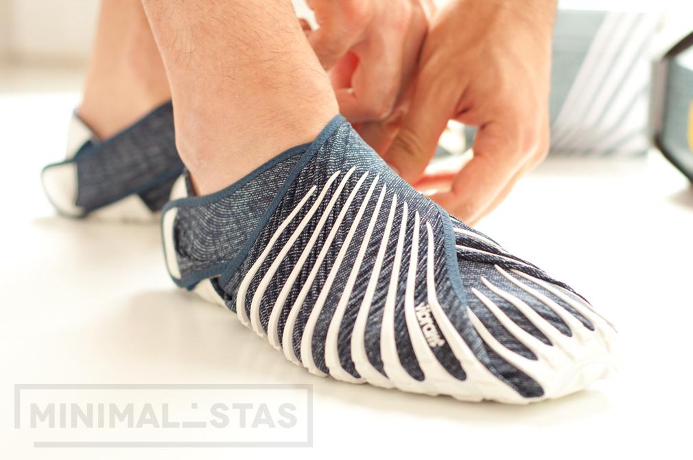 Zapatillas completamente ajustadas