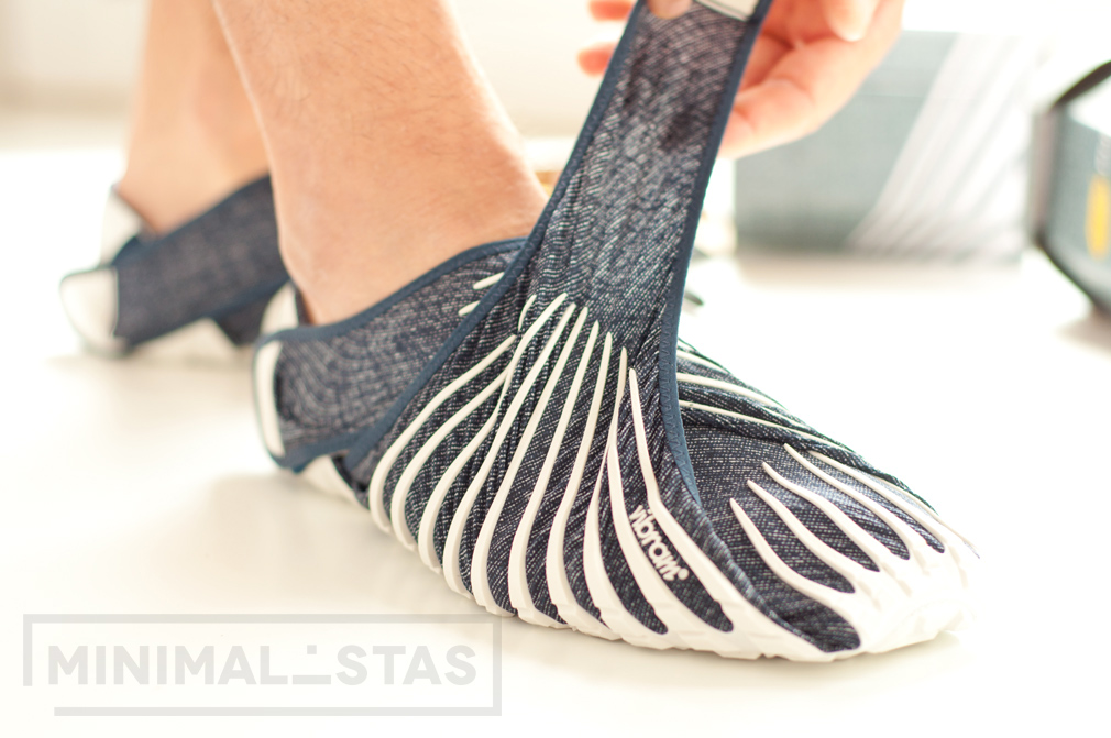 Ajustando las zapatillas