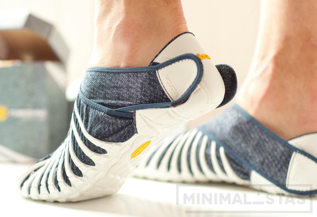 Perfil de las zapatillas Furoshiki