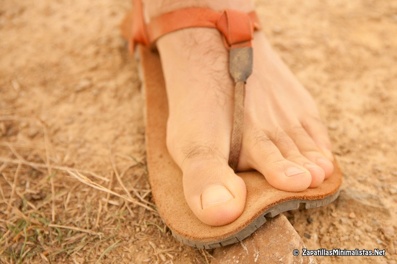 Flexibilidad Tire Sandals