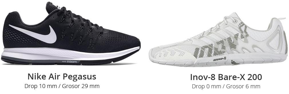 Comparativa zapatillas amortiguadas y minimalistas
