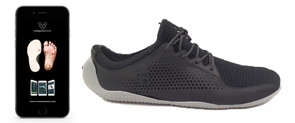 Zapatillas inteligentes Vivobarefoot negras
