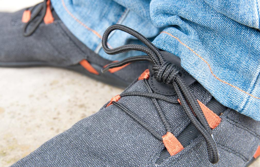 Detalle cordón Xero Shoes Ipari Hana