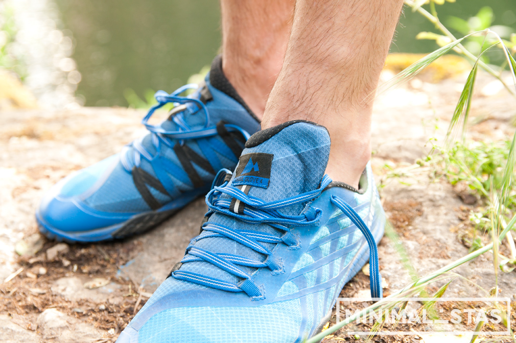 Ajuste zapatillas Merrell Trail Glove 4