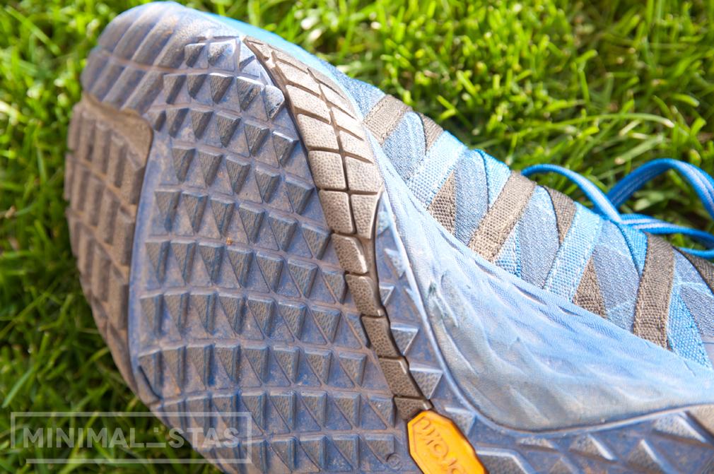 Desgaste suela Trail Glove 4