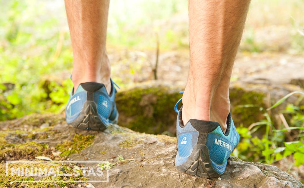 Talón zapatillas Merrell Trail Glove 4