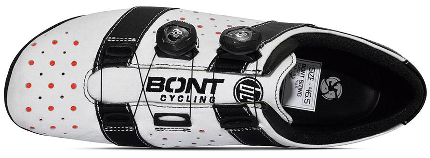 Zapatillas anchas de ciclismo en carretera, Bont Vaypor