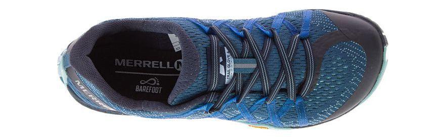 Upper azul Trail Glove 4 E-Mesh