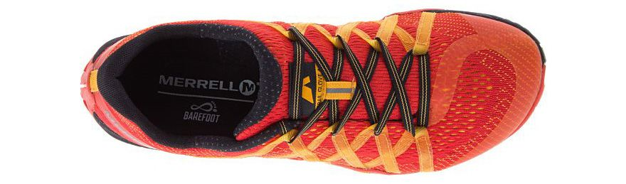 Upper naranja Trail Glove 4 E-Mesh