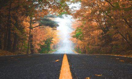 Carretera hacia el objetivo