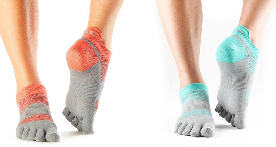 Calcetines de dedos Toesox Lolo Sport
