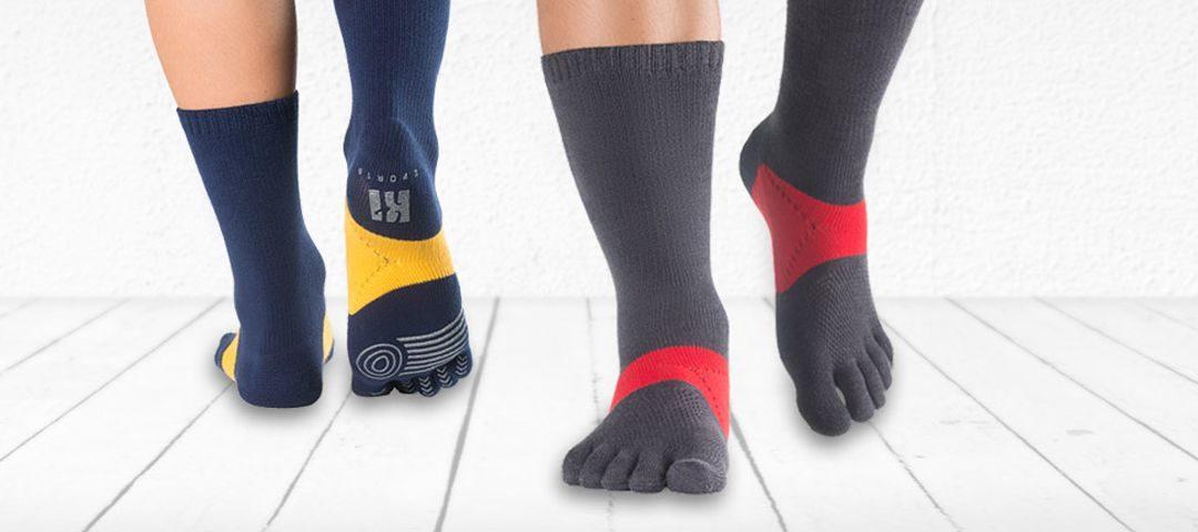Así son los mejores calcetines de dedos