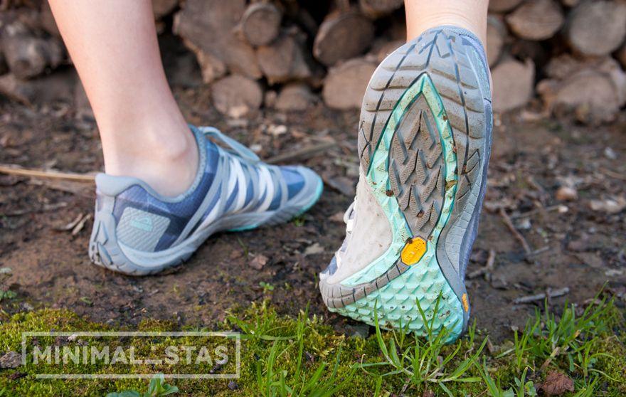 Suela de las zapatillas Merrell Pace Glove 4