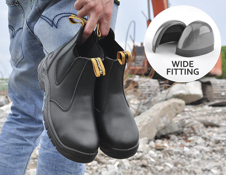 Botas de seguridad cómodas SafeToe