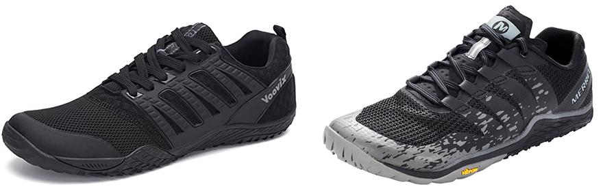 Zapatillas minimalistas chinas imitación Merrell Trail Glove